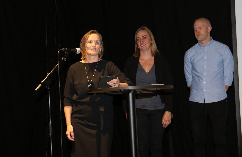 Elin Børrud, Anja Standal og Martin Rasch Ersdal fra NMBU